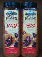 Spice Islands Taco Seasoning 24.5oz 2Container