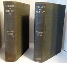 THE LIFE & LETTERS OF JOHN HAY VOL I & II by William Roscoe Thayer 1919-1920
