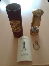 E Thomas & Williams Cambrian Brass Miner's Lantern Lamp Wales MIB