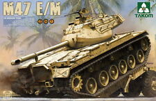 Takom Models 1/35 US Medium Tank M47 Patton E/M (2 in 1)