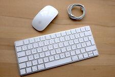 Apple Magic Keyboard Deutsch QWERTZ mit Magic Mouse 2