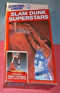 1989 ISIAH THOMAS Detroit Pistons Slam Dunk NM+ *FREE_s/h* Starting Lineup