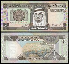 Saudi Arabia 1 RIYAL 1984 Sign.6 P 21d UNC