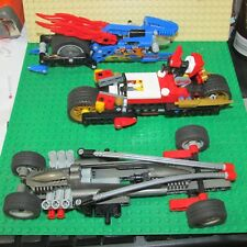 lego technics car lot of 3 race car motorcycle speedbike 8646 ninjago read