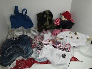 Large Lot Build a Bear Clothing, Shoes, Accessories, Hello Kitty BABW