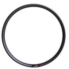29er MTB Carbon Clincher Rim 35mm wide UD Matt 28H 32H Tubeless Mountain Wheel