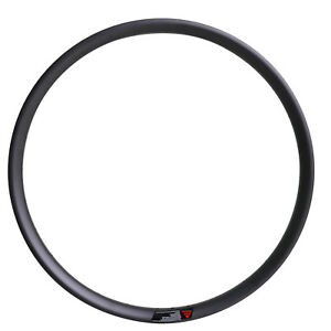 29er MTB Carbon Clincher Rim 35mm wide UD Matt 28H 32H Tubeless Mountain Wheel