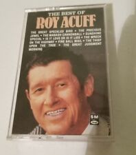 CASSETTE THE BEST OF ROY ACUFF Album,Classic Country, Excellent Tested 1986
