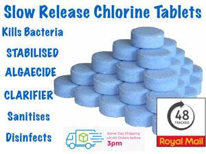Chlorine Tablets 20g 50 Multi function 5 in 1 Swimming Pool 1kg 5kg Lazy Spa