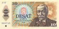 Papiergeld aus der Tschechoslowakei