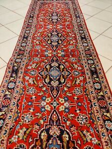 Beautiful pers Keeshan wool hand knotted carpet runner rug 311 x 81 cm size