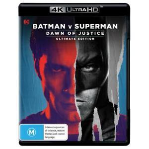 BATMAN v SUPERMAN Dawn of Justice (Ultimate Edition) [4K UHD] Brand New