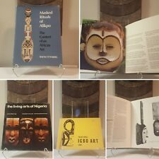 Tribal African Art 3-book bundle Afikpo Igbo Ibo Mask Statue Figure Sculpture