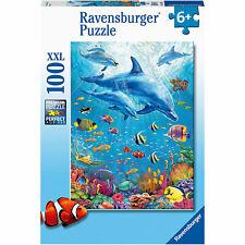 Ravensburger 12889 Pod of Dolphins XXL 100pc Jigsaw Puzzle