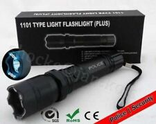 10pc New 1101 Tourch Police Self defense Electric Shock LED Flashligh....