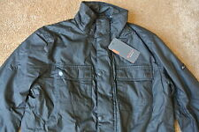 BEN SHERMAN Military Fleece Lined Jacket Coat Medium Weight M NWT$209 Black