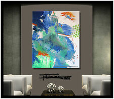 ABSTRACT PAINTING Modern Canvas Wall Art Listed by Artist framed USA ELOISExxx