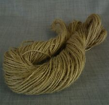 100 metres RUSTIC 2 PLY JUTE TWINE VINTAGE HESSIAN STRING SISAL SHABBY CHIC CORD