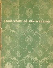 bbo 2000 Years Silk Weaving Los Angeles Exhibition Rug 1944