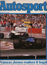 Autosport 3 Jul 1980 - French Grand Prix Alan Jones, 24 Hours of Ypres, Monza AF