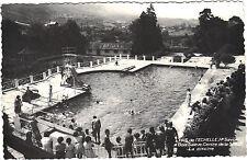74 - cpsm - PAS DE L'ECHELLE - Bois Salève, Centre de la SNCF - La piscine