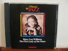 MARY LOU WILLIAMS first lady..-CD- Maestri del Jazz- De Agostini-fuori commercio