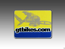 GT BMX,  Freestyle Racing, Bicycle Decal Sticker GT gtbikes.com