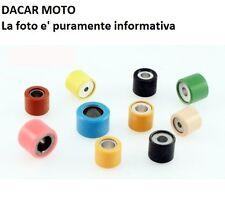 Set Rollos 19x15, 5mm 7,5gr 6 Piezas Piaggio 50 Vespa LX 2T 2005 RMS 100450750