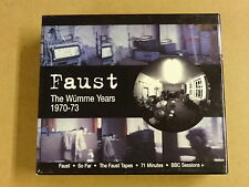 5-CD BOX / FAUST - THE WUMME YEARS 1970-73