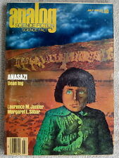 ANALOG July August 1980 Anasazi by Dean Ing (Serial)