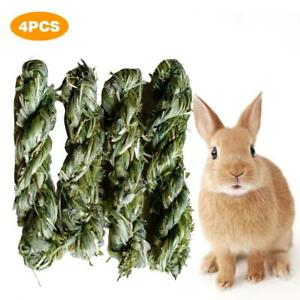 4pcs Rabbit Guinea Chew Toy Timothy Grass Chewing Toy Small Animal Activity Play