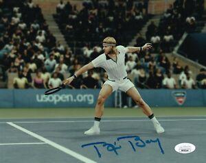 Bjorn Borg REAL hand SIGNED Photo #1 JSA COA Autographed Tennis Wimbledon