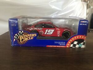 2000 #19 Casey Atwood Winners Circle 1/24 Scale Car NASCAR NEVER OPENED!
