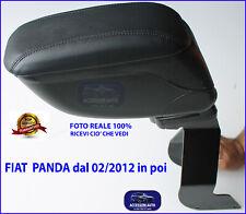 FIAT Panda 4X4 dal 2012> Bracciolo Portaoggetti Poggiabraccio Auto sedili Poggia