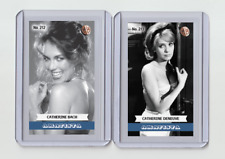 Catherine Bach rare MH Amatista #'d 2/3 Tobacco card no. 212