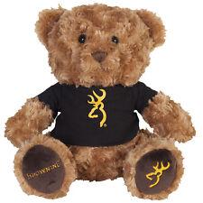 Browning Tan and Black Plush Teddy Bear BGT1156 Stuffed Baby or Kids Gift Boy