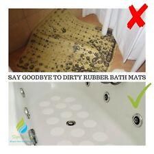 NON SLIP BATH MAT SHOWER TRAY SAFETY STRONG GRIP STICKERS NON RUBBER BATHTUB