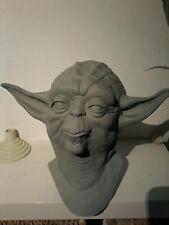 1/1 bust life size prop star wars  yoda cast no hot toys mss 297 luke  vader dx