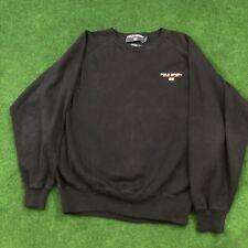 Vintage Polo Sport Ralph Lauren Mens Flag USA Spellout Sweater Jumper Size Large