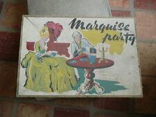 boite de jeux ancienne MARQUISE PARTY dinette