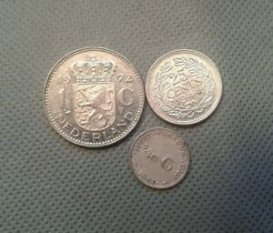 OLD COINS World/Foreign Nederlands 1944/1947/1972!!!! **COLLECTIBLES**
