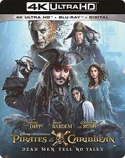 Pirates of the Caribbean: Dead Men Tell No Tales(4K Ultra HD)(UHD)(Atmos)(Oct 3)