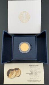 Deutschland 50 € Euro 2020 G Sammler Goldmünze Musikinstrumente Orchesterhorn