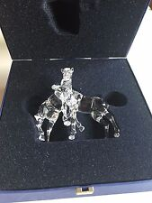 "Swarovski Crystal Foals ""Two Horses"" 7612 000 003 Peaceful Countryside 627637"