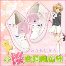 Anime Card Captor Sakura Clear Card Cosplay Canvas Shoes Unisex Casual Sneakers