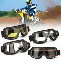Motorcycle Helmet Goggles Anti-UV Windproof Glasses Motorbike Cycling Eyewear