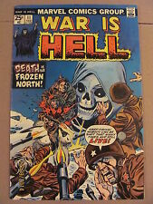 War Is Hell #11 Marvel Comics Bronze Age 1974 Death 3rd app