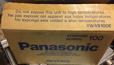 Panasonic Vw-vs100e Jeu De K7 D Encre Papier  X 5 Unités = Total 500 / Périmé