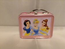 NEW DISNEY PRINCESS MINI TIN BOX