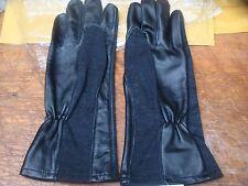 sas crw fire retardent assault gloves leather/nomex mix size uk mans sz large
